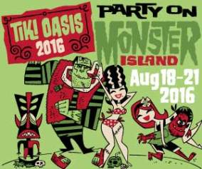 Tiki Oasis 16 Party on Monster Island Graphic