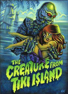 Eddy Crosby - The Creature from Tiki Island