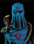 Nathan Anderson – Cobra And Commander Color pencil on paper, 11×14″