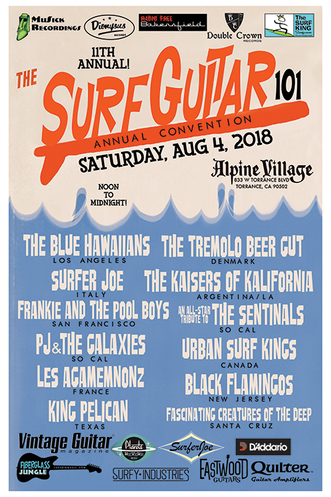 The 11th Annual Surf Guitar 101 Convention