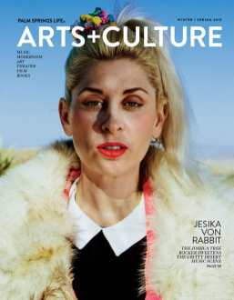 Jesika von Rabbit Palm Springs Life Cover Story