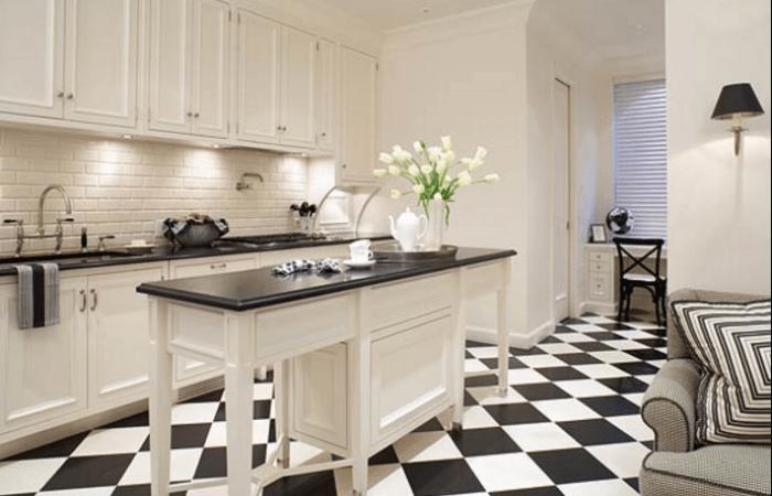 19 Inspiration Black And White Kitchen Design & Decor Ideas