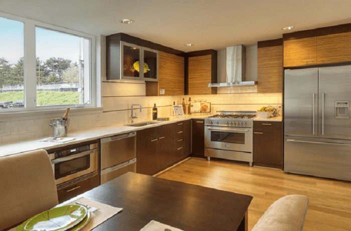 Beau L Shaped Kitchen With Island Kitchen Layouts