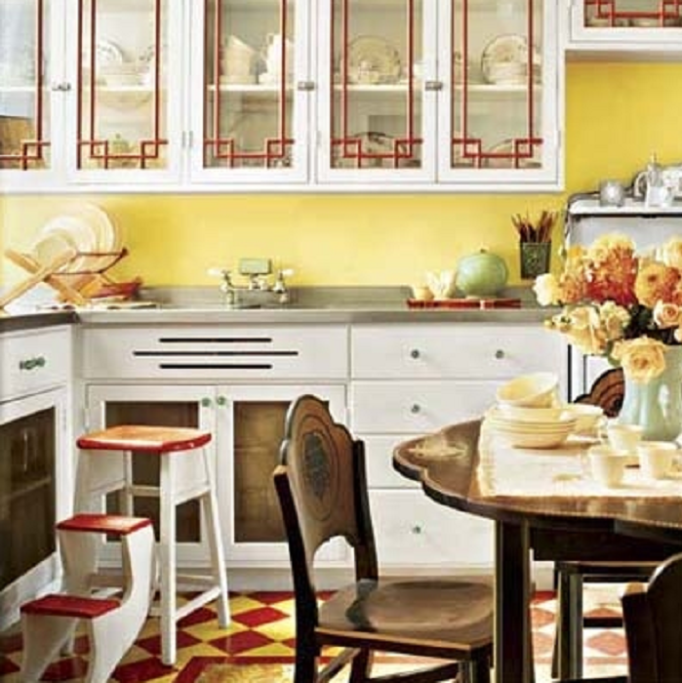 Yellow Kitchen Color Walls