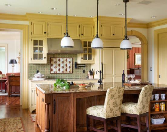Yellow KitchenCabinets