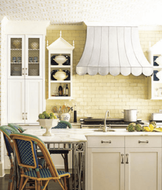 Yellow Kitchen Wallpaper