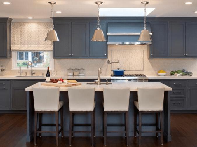 kitchen cupboard paint grey