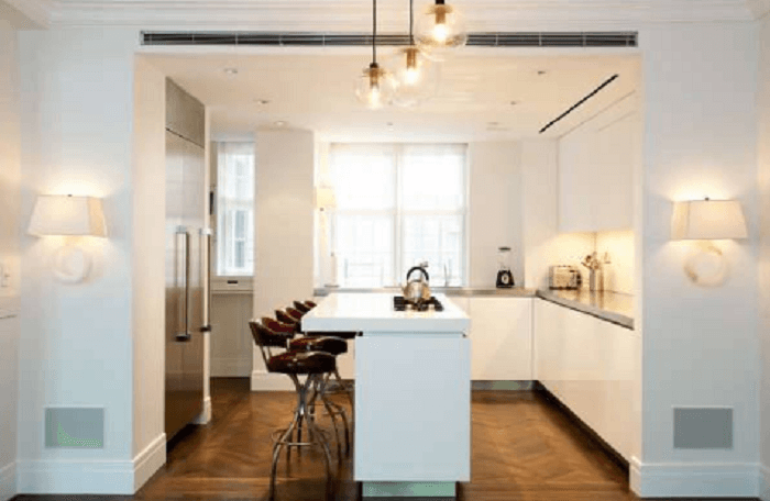 L Shaped Kitchen Design With Island