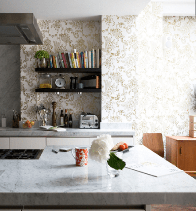 Wallpaper Designs For Kitchen New Inspiration Design