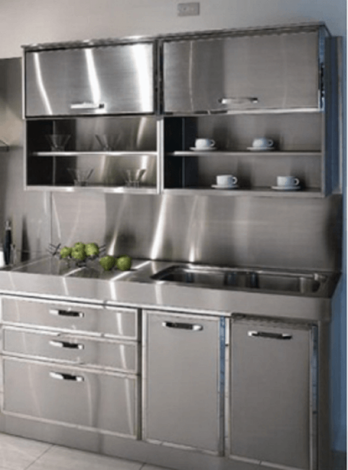 30+ Metal Kitchen Cabinets Ideas, Style, Photos, Remodel and ...