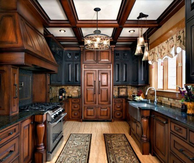 Two Tone Kitchen Cabinets Doors: 10+ Fashionable Two Tone Kitchen Cabinets