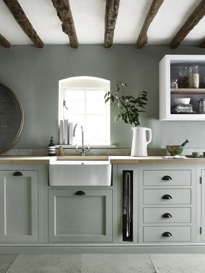 painting kitchen cabinets green 15 green kitchen cabinets design photos ideas amp inspiration 24462