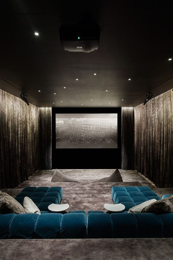 Superior Basement Home Theater Colors Great Pictures