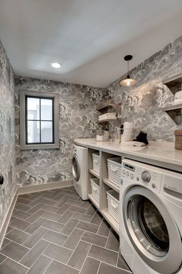 22 amazing basement laundry room ideas that ll make you love on best laundry room designs id=18944