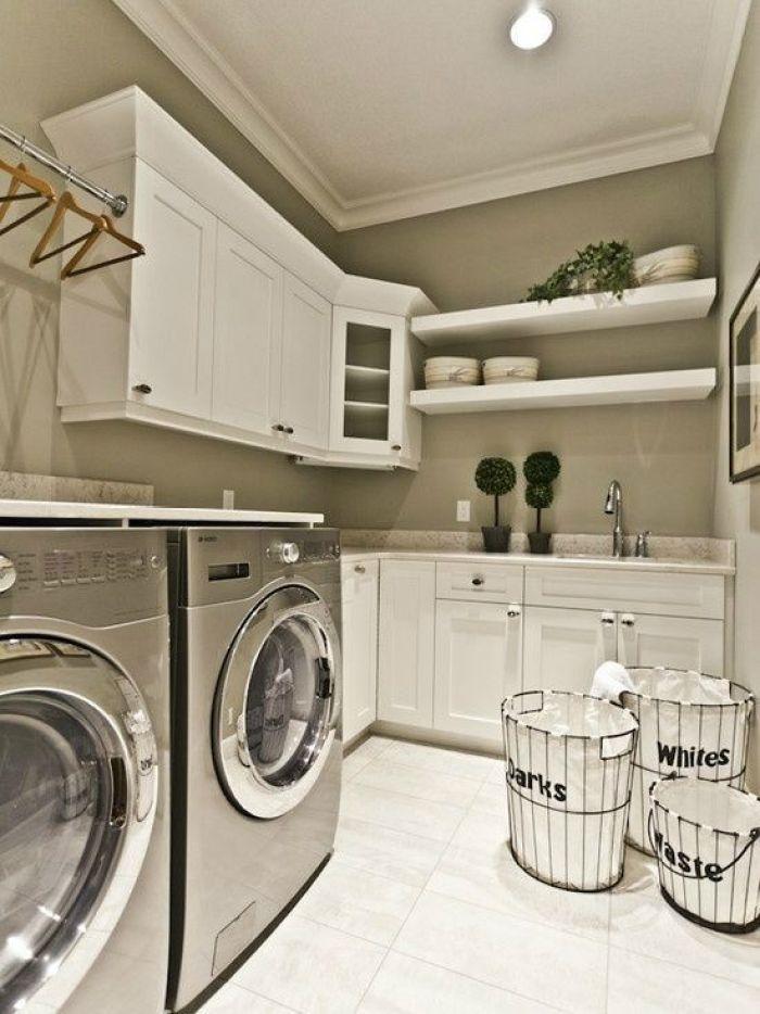 22 amazing basement laundry room ideas that ll make you love - Laundry room paint ideas ...