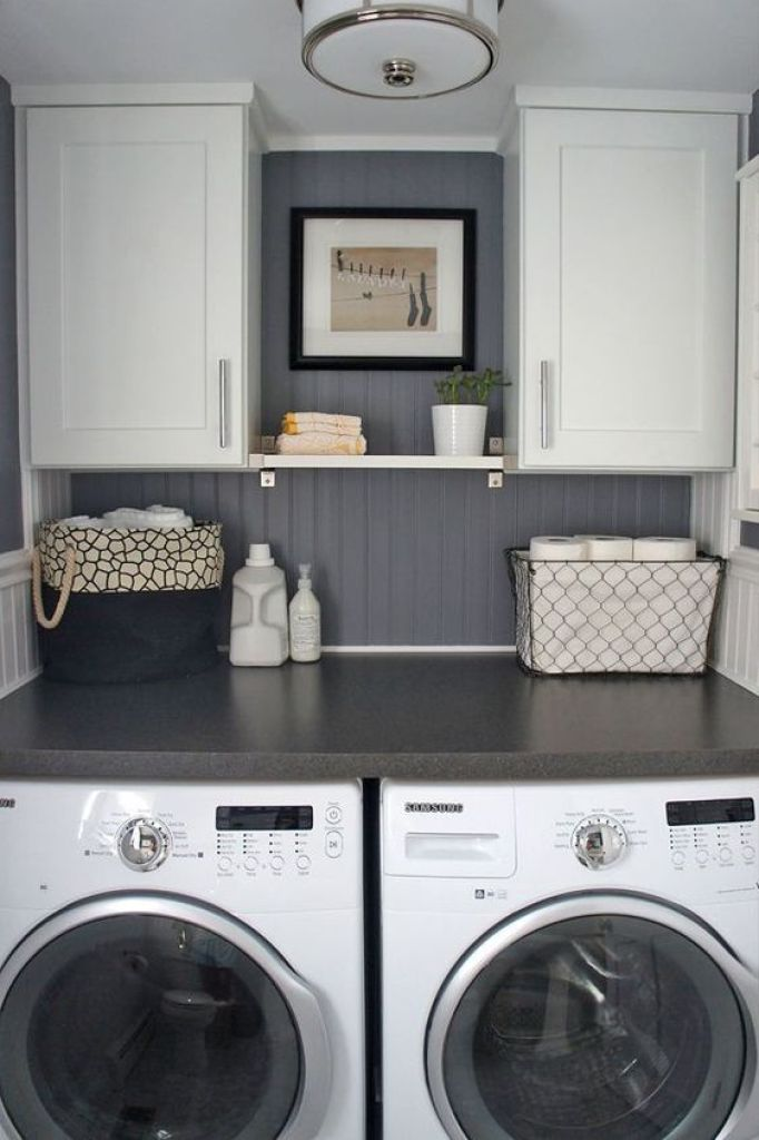 Basement Laundry Room Remodeling