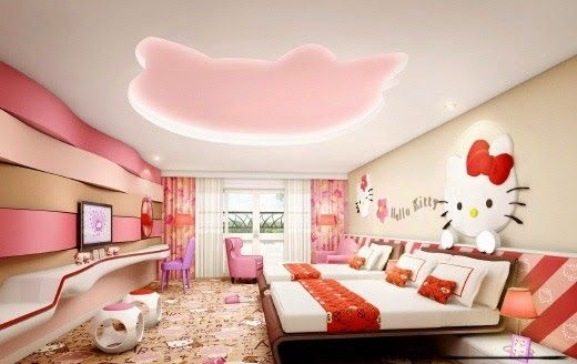 Exceptional Hello Kitty Ceiling Design Bedrooms