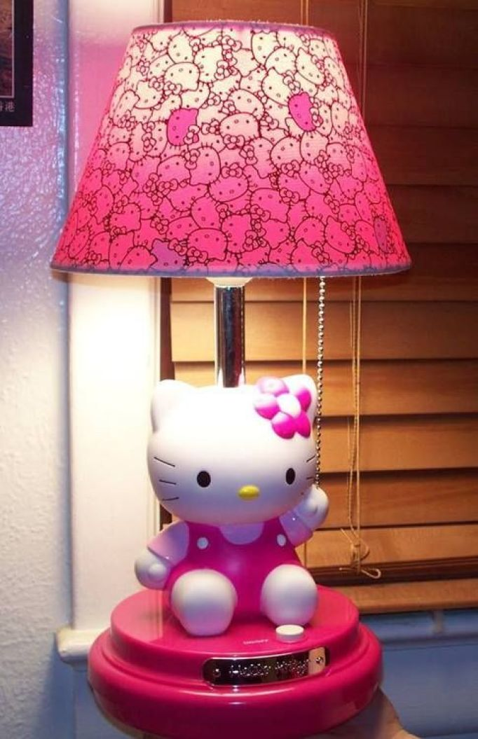 Hello Kitty Lamps for Bedroom