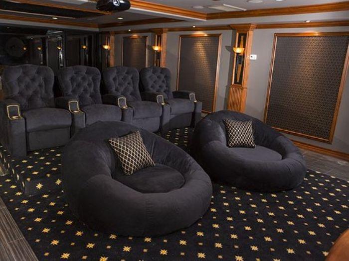 House Theater Basement Furniture Ideas