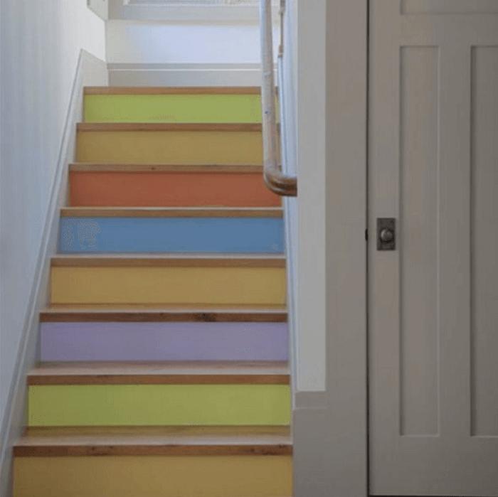 stair floor paint