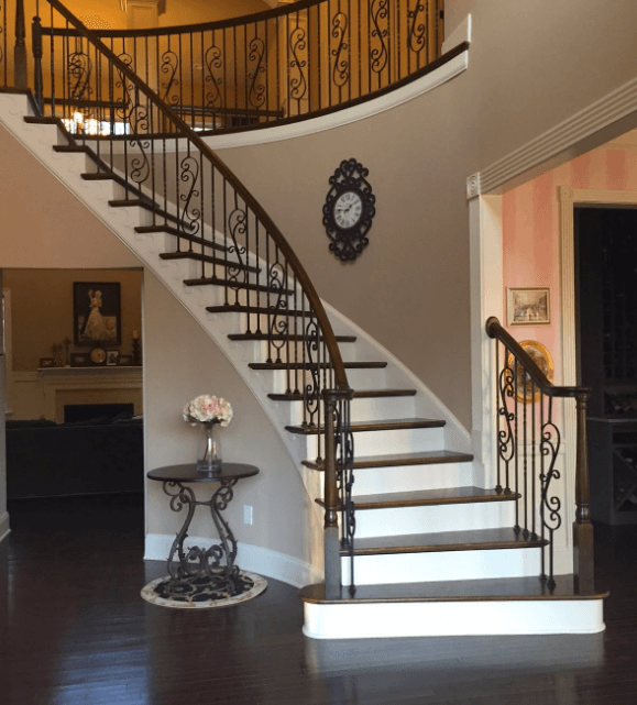 Painting Stair Spindles
