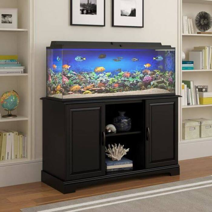 20 most attractive collection of aquarium furniture for Muebles la fabrica sofas