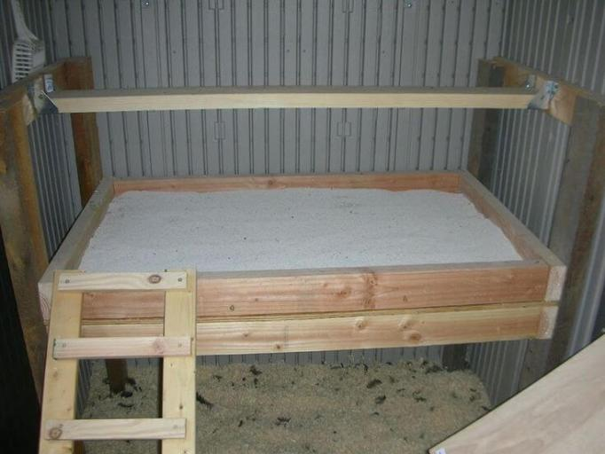 Chicken Roosting Bar Size Mattress