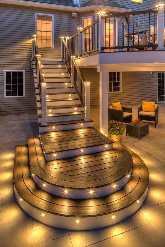 Exterior StairwayStep Light
