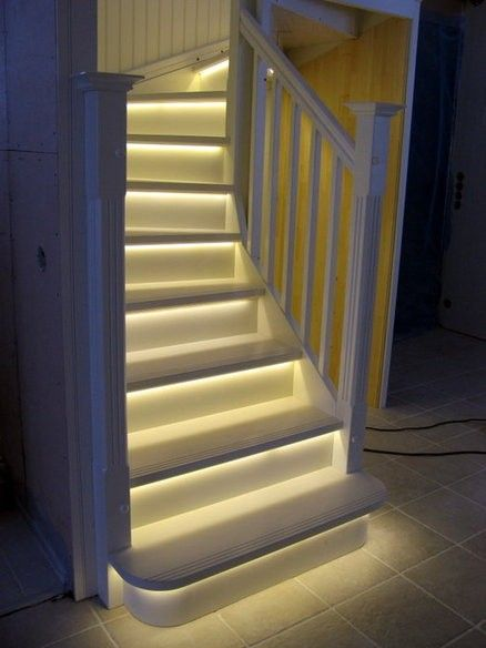 Good Led Stair Lights Indoor