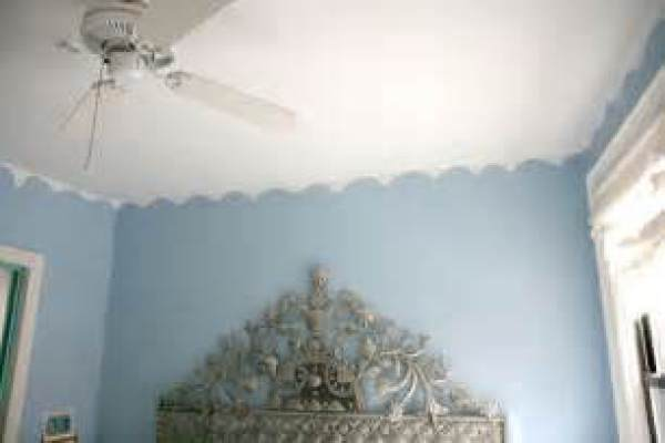 Scalloped Ceiling Texture