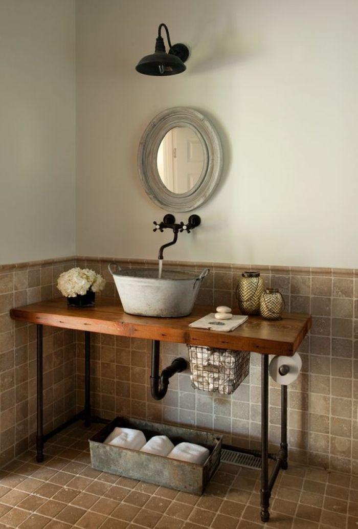 Steampunk Bathroom Faucet