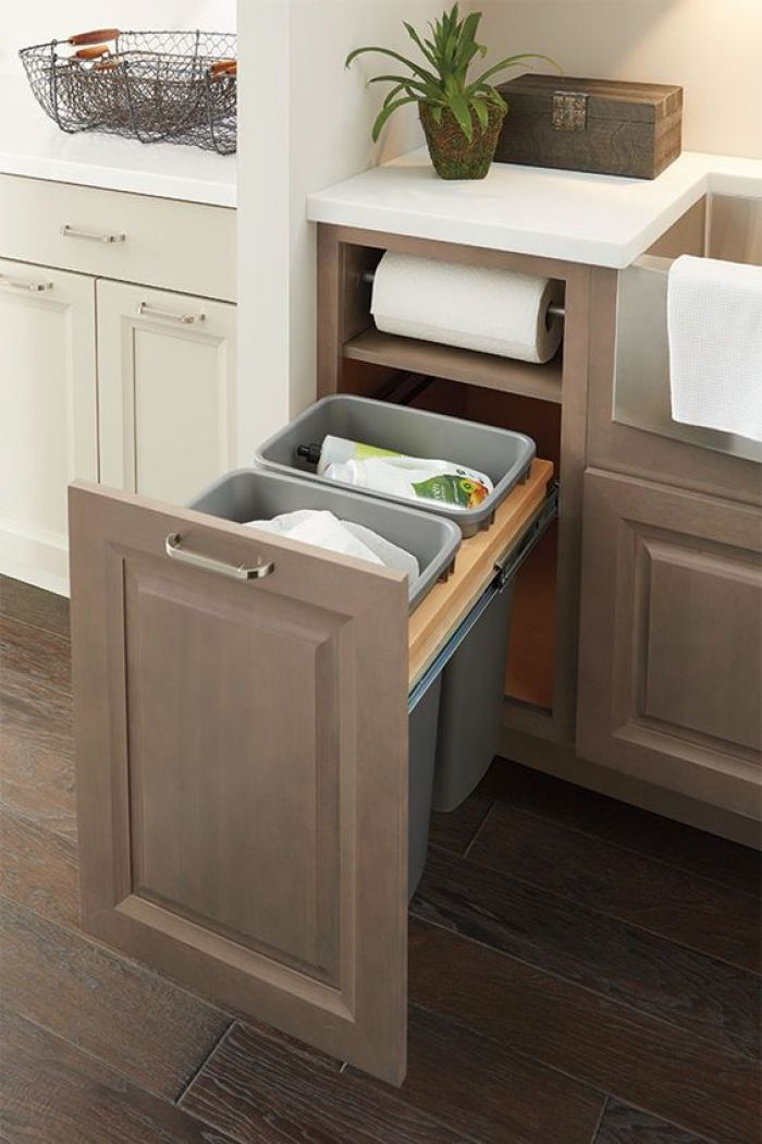 Under Sink Roll Out Trash Can