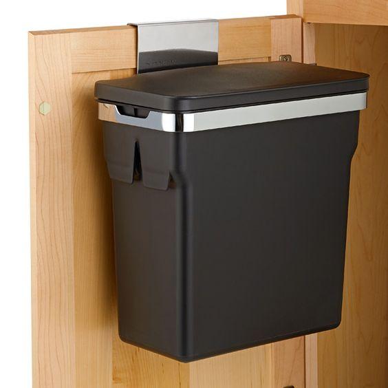 Attirant Under Sink Trash Can Door Mount