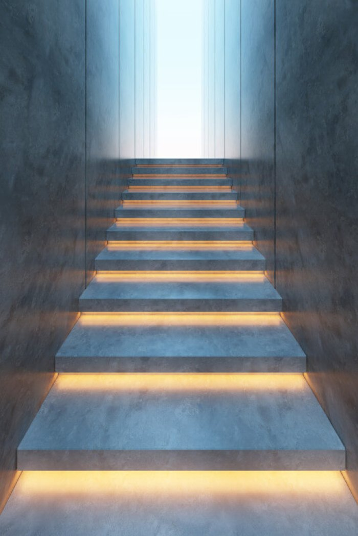 Lighting Basement Washroom Stairs: 20 Futuristic Lighting Ideas To Install Luminous Lights
