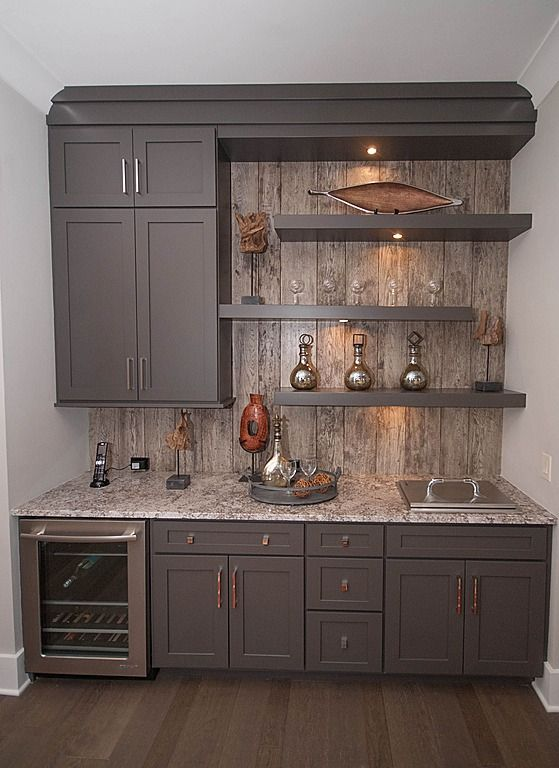 Basement Bar Ideas Contemporary Bar By Pinterest