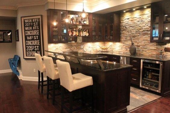 Luxury Home Bar Designs