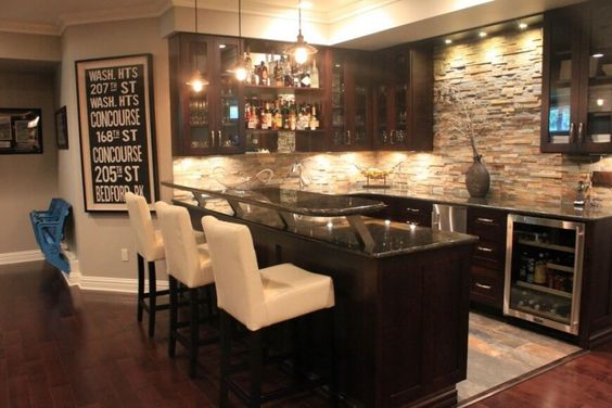 Luxury Home Bar Designs