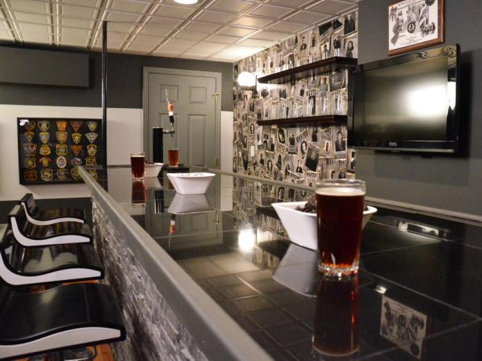 basement bar designs
