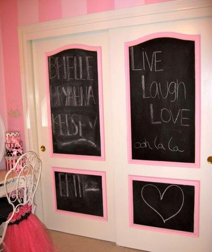 Cute closet door ideas