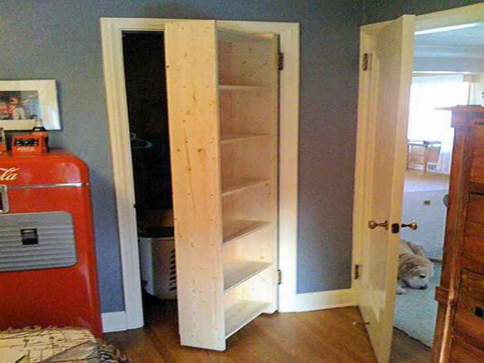 Hidden Closet Door Ideas