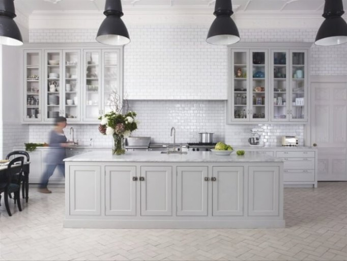 Best Designs Ideas Gray Kitchen Cabinets Amazing Reverb - Light gray kitchen cabinet colors