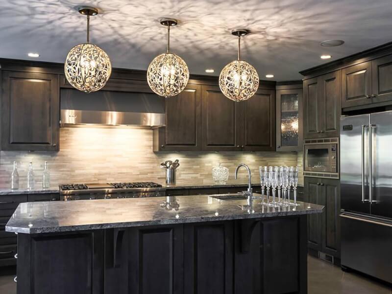 15 chic kitchen island lighting ideas reverb rh reverbsf com kitchen island lighting rules kitchen island lighting trends