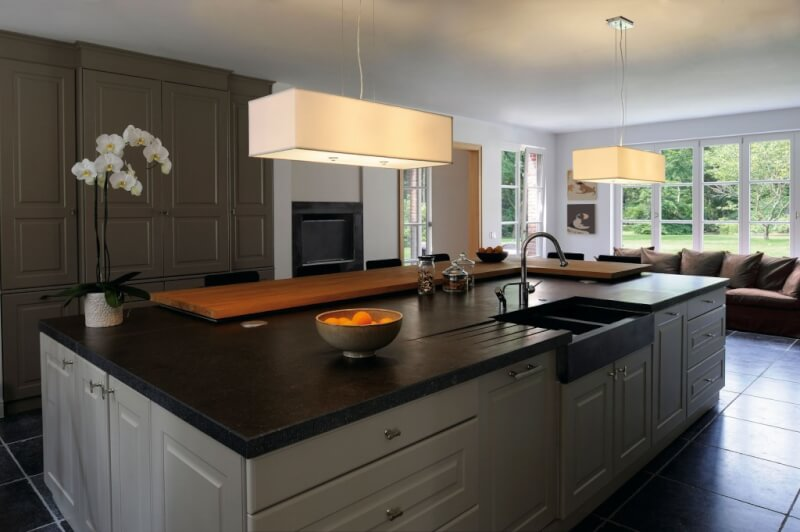 Japanese Kitchen Island Lighting Ideas