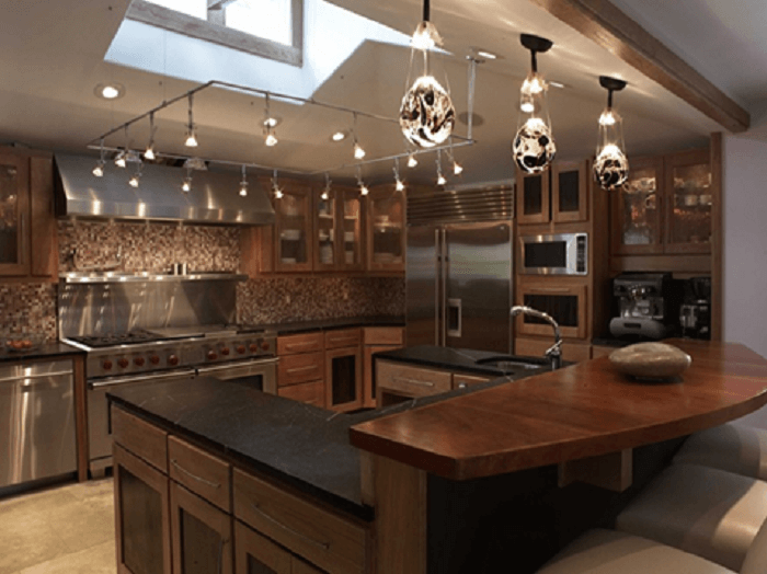 Luxurious Kitchen Island Lighting Ideas