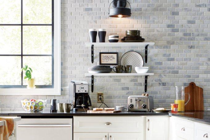 Plate Racks for A Modern Farmhouse Kitchen
