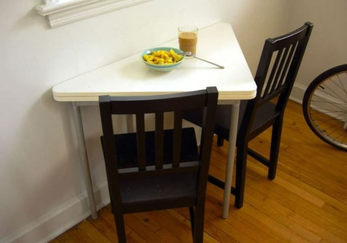 Triangle Small Kitchen Table