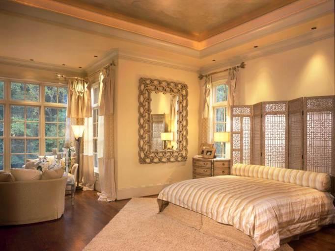 bedroom lighting decoration