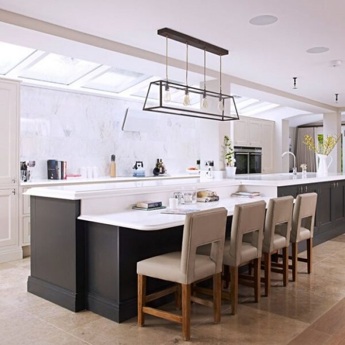 Open Kitchen Plans With Islands: 14 Interesting Large Kitchen Island Ideas