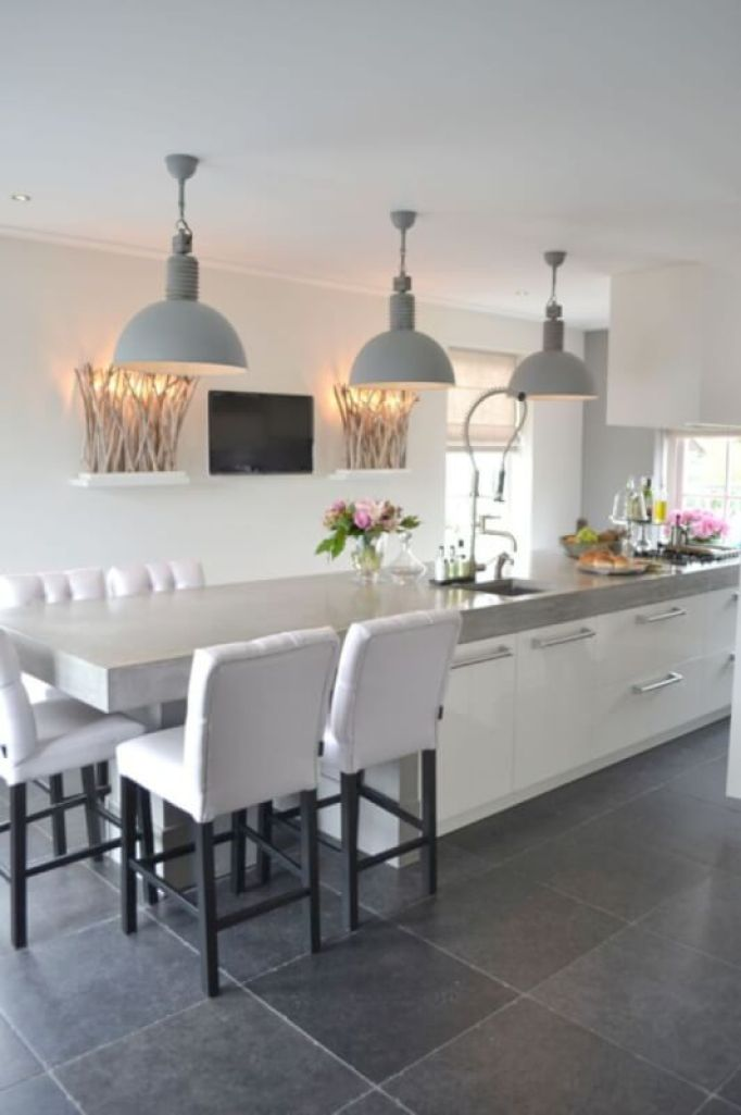 large kitchen island pendant lighting