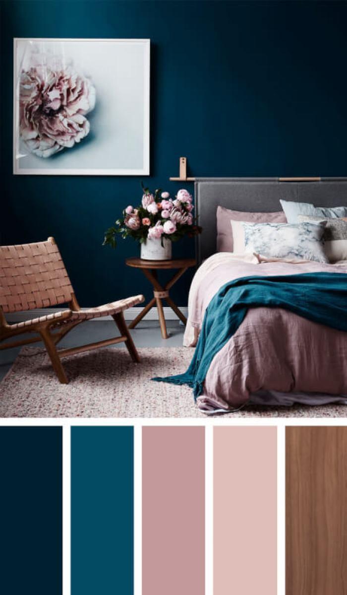 bedroom color schemes green